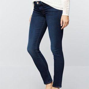 J Brand Mama J Skinny Maternity Jeans Size 28